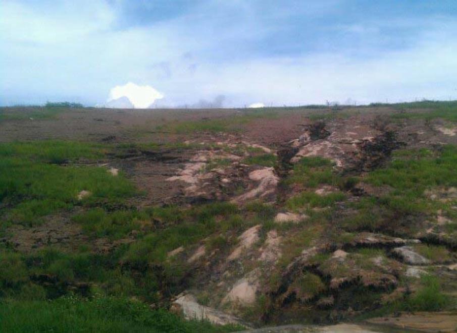 Saufley Landfill Rainfall Event