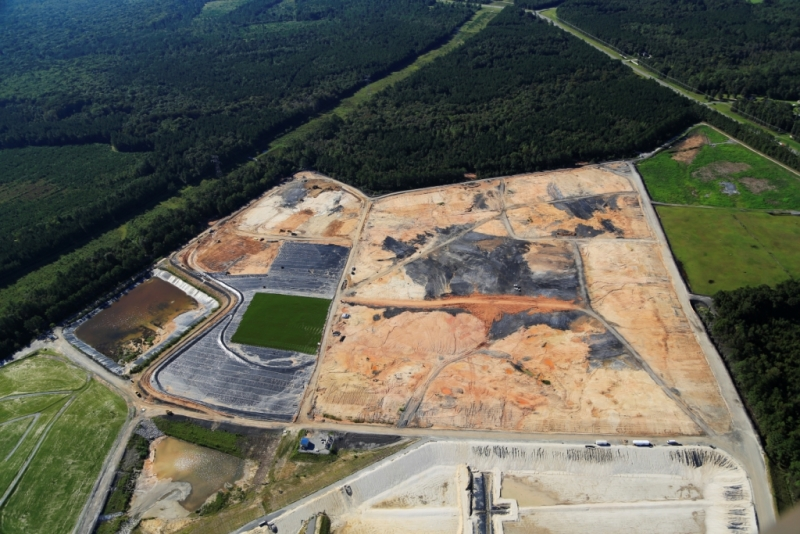 Comanco Enviromental Landfill Closure using ClosureTurf