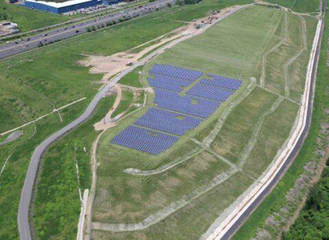 HLF Solar Array mit Blick nach Nordwesten 2014