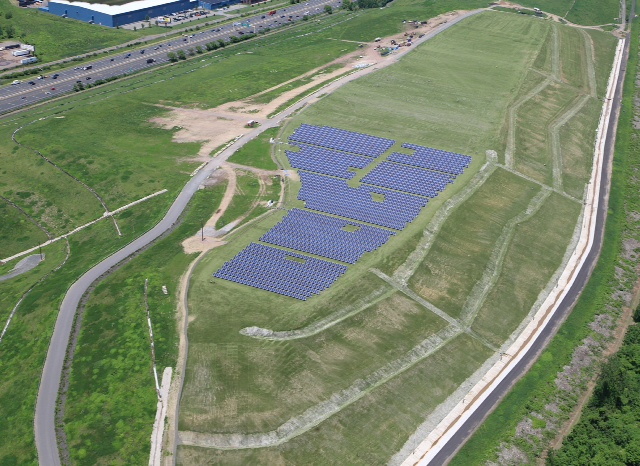 ClosureTurf at Hartford Landfill Recognized as a State-of-the-Art Closure System by the Waste Industry