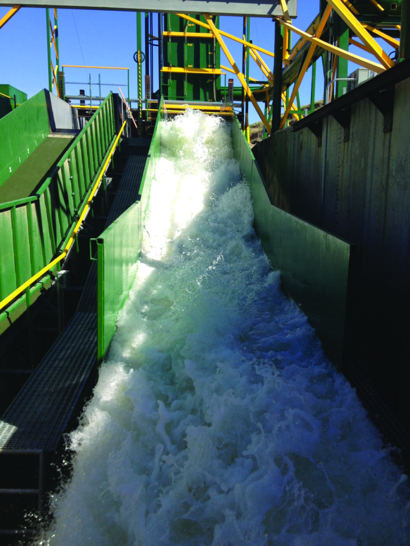 Wave Overtopping Test Flume at CSU