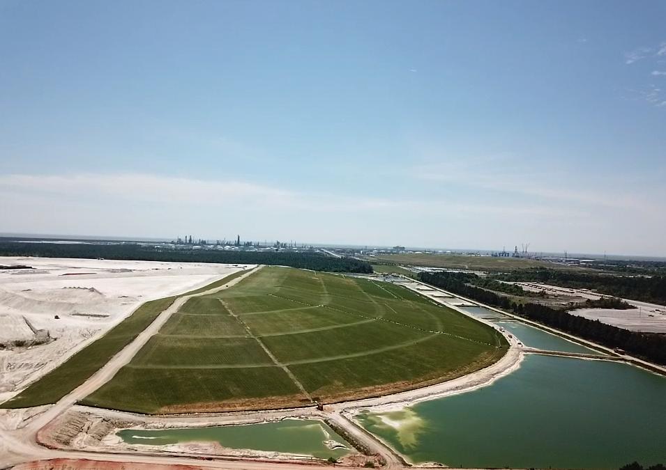 La EPA completa la primera fase de un sitio Superfund de Mississippi utilizando ClosureTurf