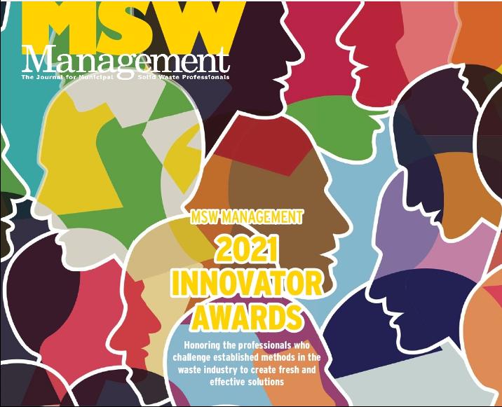 Watershed Geo Anerkannt für den MSW Management Innovator Award